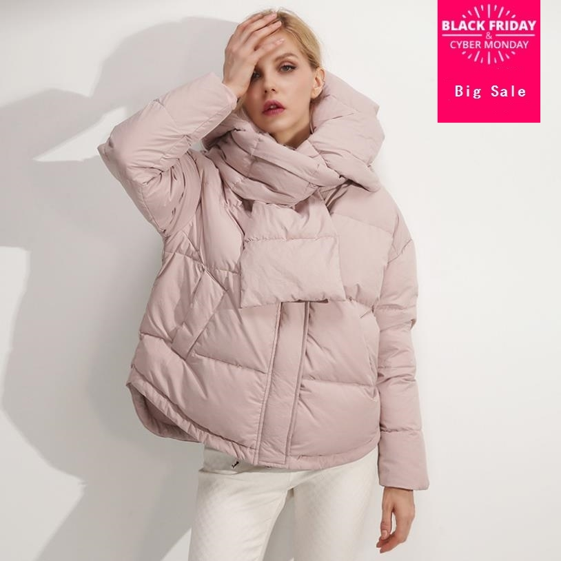 Winter new fashion brand white duck   down   jacket female hooded stitching warm duck   down     coat   with   down     coat   wq411 dropship