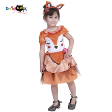 Carnival Party Costumes for Kids Toddler Animal Dress Girls Cute Fox Cosplay Chirldren Fancy Dress Headband  sc 1 st  AliExpress.com & Buy kids costume fox and get free shipping on AliExpress.com
