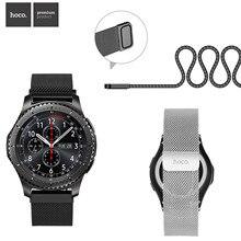 HOCO Chiusura Magnetica Milanese Loop Cinturino Per Samsung Galaxy Gear S3 Classico Cinturino Da Polso Per Samsung Gear S3 Frontier fascia