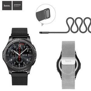 Image 1 - HOCO Chiusura Magnetica Milanese Loop Cinturino Per Samsung Galaxy Gear S3 Classico Cinturino Da Polso Per Samsung Gear S3 Frontier fascia