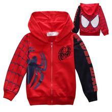 Spring Autumn Jacket Autumn Boys Coat Jackets Fashion Boys Spiderman Coats For Children Jackets Oute