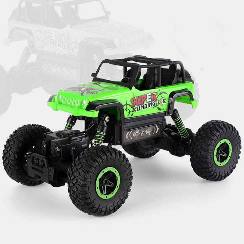 RC Car 4WD 2.4GHz Radio-controlled Toys Rally Climbing Bigfoot Car Machine On The Remote Control Model Off-Road Vehicle Kids Toy rc car 1 12 high speed rock rover toy remote control radio controlled machine off road vehicle toy rc racing car toys for kids