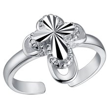 Rings 925 Fashion Jewelry gift rings silver PJ195(China)