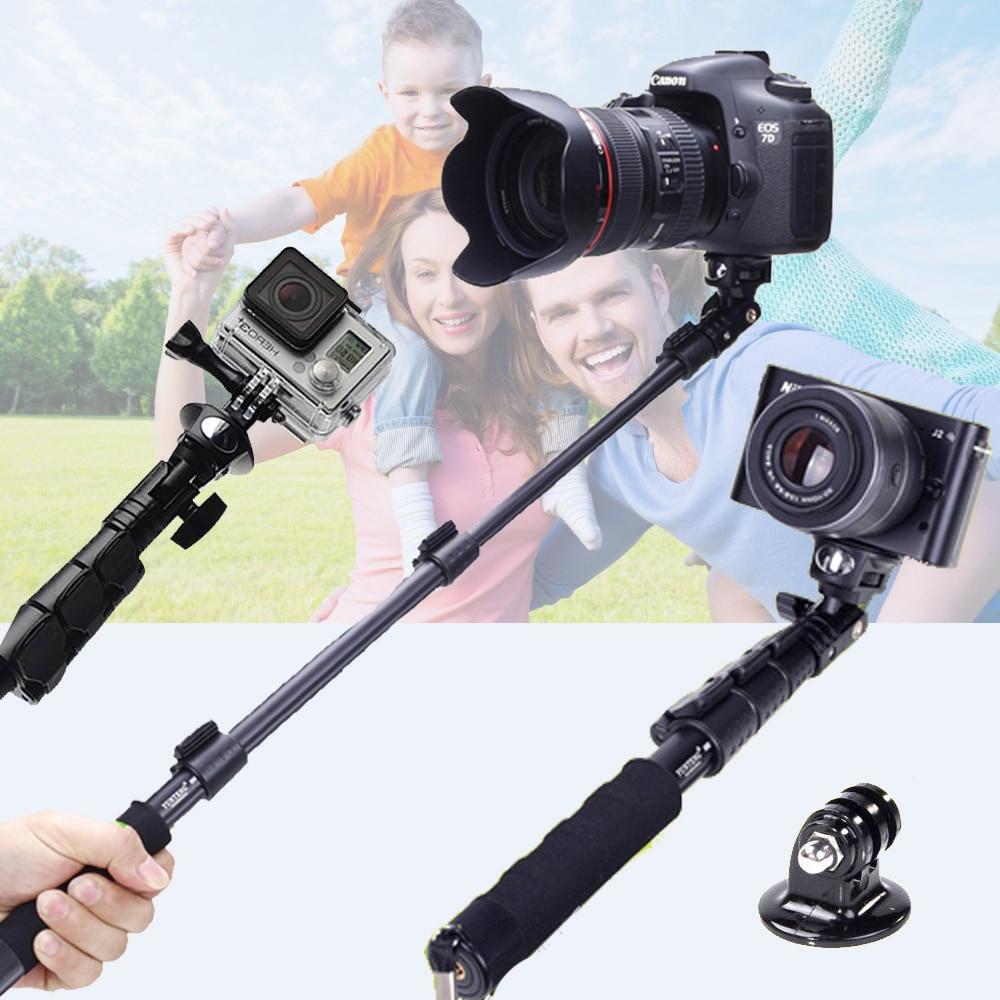 VILTROX Yunteng 088 Selfie Bâton Retardateur Pôle Manfrotto Pour Gopro Hero4/3 SJCAM SJ7000 SJ6000 Canon Nikon DSLR Numérique caméra