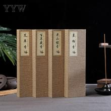150pc/Box Sandalwood Incense Sticks Aroma India Home Scent Diffuser For Yoga Sage Aromatic Stick Aromatherapy Oud Perfume