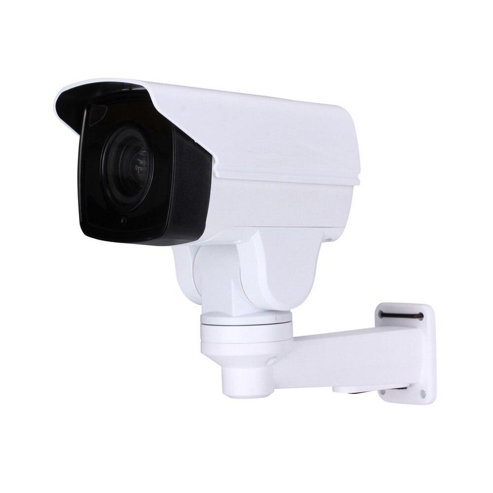 где купить Security Rotary Bullet MINI PTZ IP Camera with Onvif 1080P CCTV 4/10X ZOOM IR 80M Night Vision outdoor POE surveillance Camera дешево