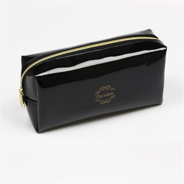 Zipper Pillow Shaped Brand Cosmetic Bag