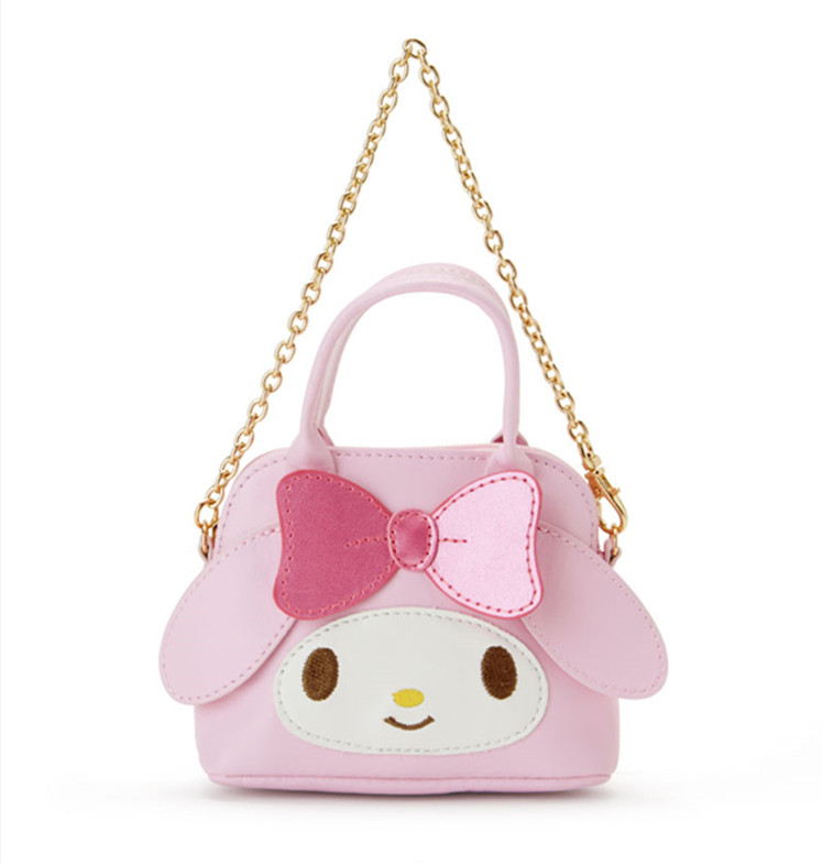 02b0b8e8756d Cute Hello Kitty My Melody PU Leather Coin Purse Wallet Small Chain ...