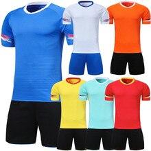 Survetement fútbol 2019 nuevos hombres de fútbol de niños camisetas  conjunto en blanco de entrenamiento de fútbol uniformes del . cf9d29dbb9d9d