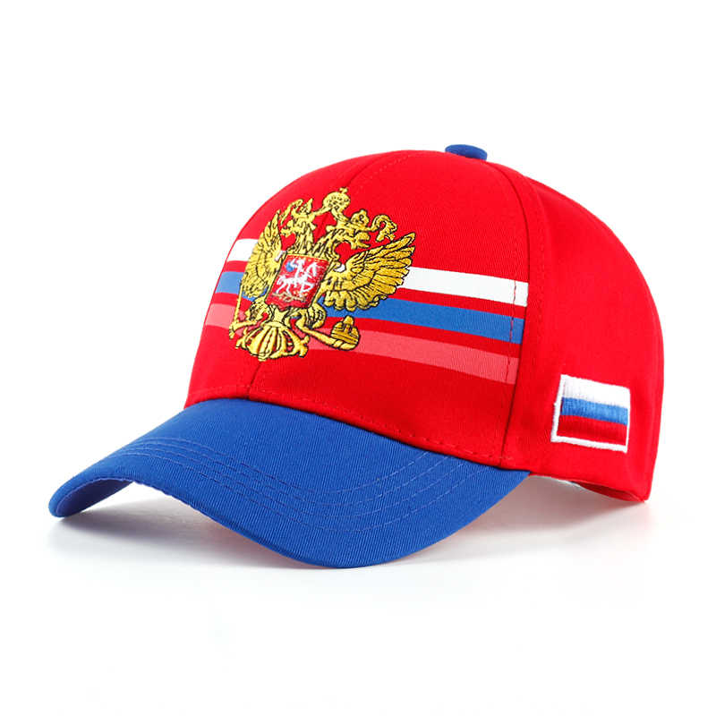 VORON Newest Russia emblem embroidery baseball cap Wome men outdoor sports hat fashion casual cap hat factory sells directly