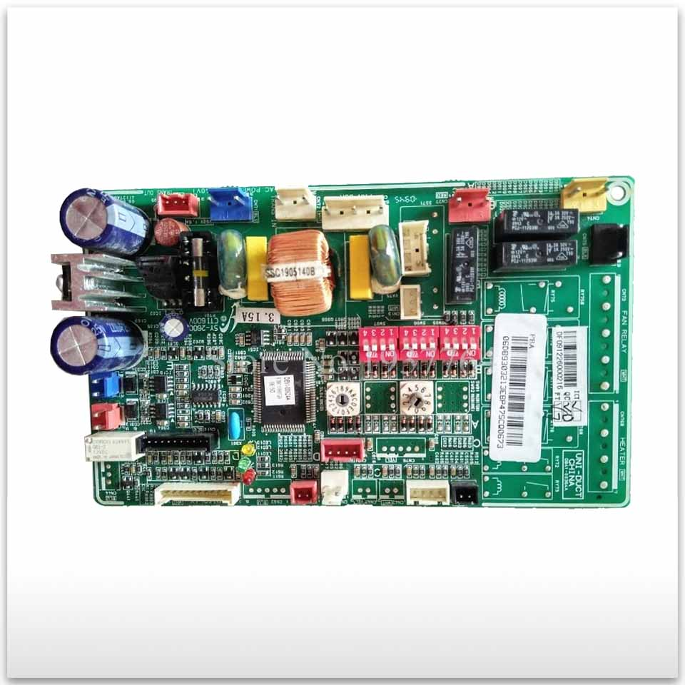 95% new for Air conditioning computer board circuit board DB93-03213E DB91-00624A good working wire universal board computer board six lines 0040400256 0040400257 used disassemble