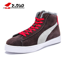 Z. Suo men's shoes, add hair fashion warm shoes man,leisure fashion tube in warm winter men's shoes.Zapatos de los hombres zs576