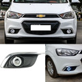 Brand New Superb LED COB Angel Eyes+HID Lamp Projector Lens Foglights For Chevrolet Aveo 2014