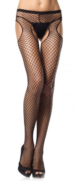 Ladies Sexy Lingerie Hot Shoe Stylish Underwear Open Crotch Underwear Socks Top Thigh Hi ...