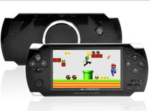 New 4GB High Quality MP4 MP5 Player 4.3 Inch PMP Handheld Game S3000 Video FM Camera Portable Console