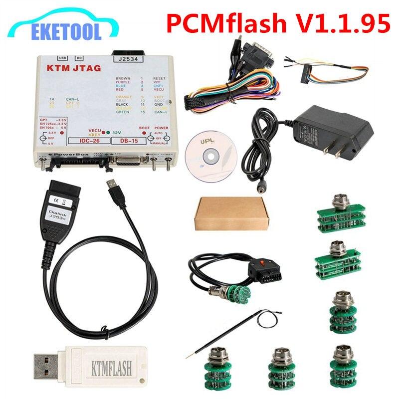 KTMFLASH ЭБУ Мощность инструмент для обновления программист и ЭБУ передачи Новый V1.1.95 KTM Flash DiaLink J2534 кабель Поддержка 271 MSV80 MSV90
