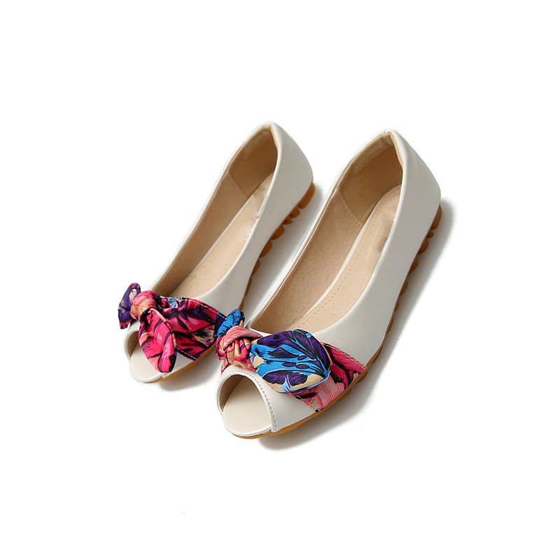 11-bow-designer-gold-china-peep-toe-women-flats-shoes-with-little-cute-bowtie-kawaii-white (5)