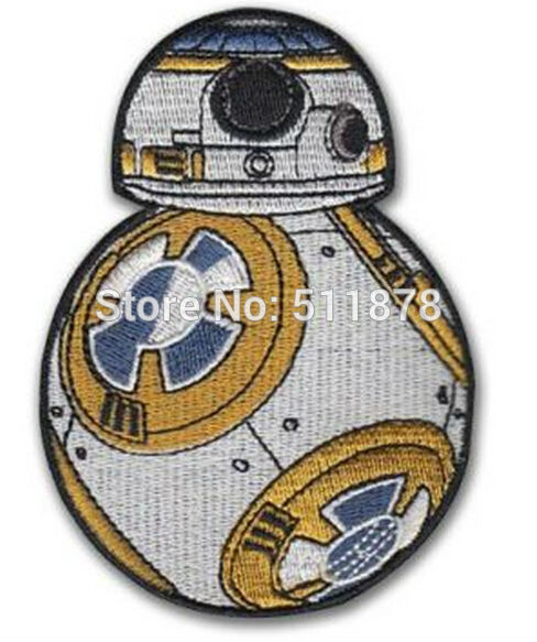 Star Wars 7 VII BB 8 The Force Awakens Patch TV Movie Series Uniform applique Embroidered
