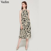 04b07d3d7c124 Popular Leopard Halter Dress-Buy Cheap Leopard Halter Dress lots ...