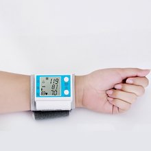 New Automatic Digital Arm Blood Pressure Monitor Sphygmomanometer Gauge Meter Tonometer for Measuring Arterial