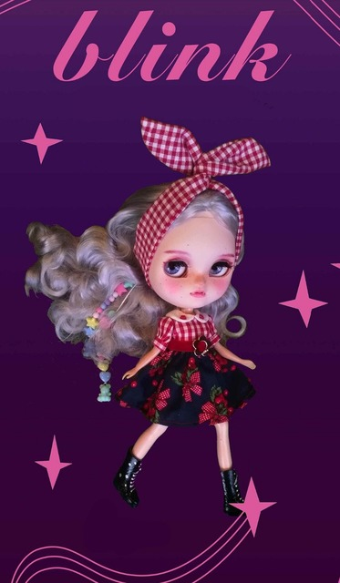 Icy Neo Blythe Doll DIY 30 cm Regular Body Light Makeup Free Gift
