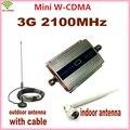 1 Conjunto LCD Família UMTS WCDMA 3G 2100 MHz 2100 MHz Mobile Phone Signal Booster Repetidor Amplificador Celular com Antena + 10 M Cabo