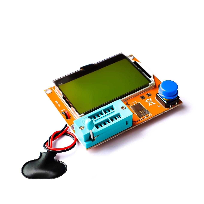 Mega328 M328 LCR-T4 ESR Meter LCR led Transistor Tester Diode Triode Kapazität MOS PNP/NPN