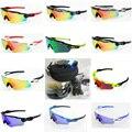 5 Lens UV400 Cycling sunglasses men&women 2016 MTB Cycling glasses Bicycle Fishing sport bike glasses goggles eyewear fietsbril