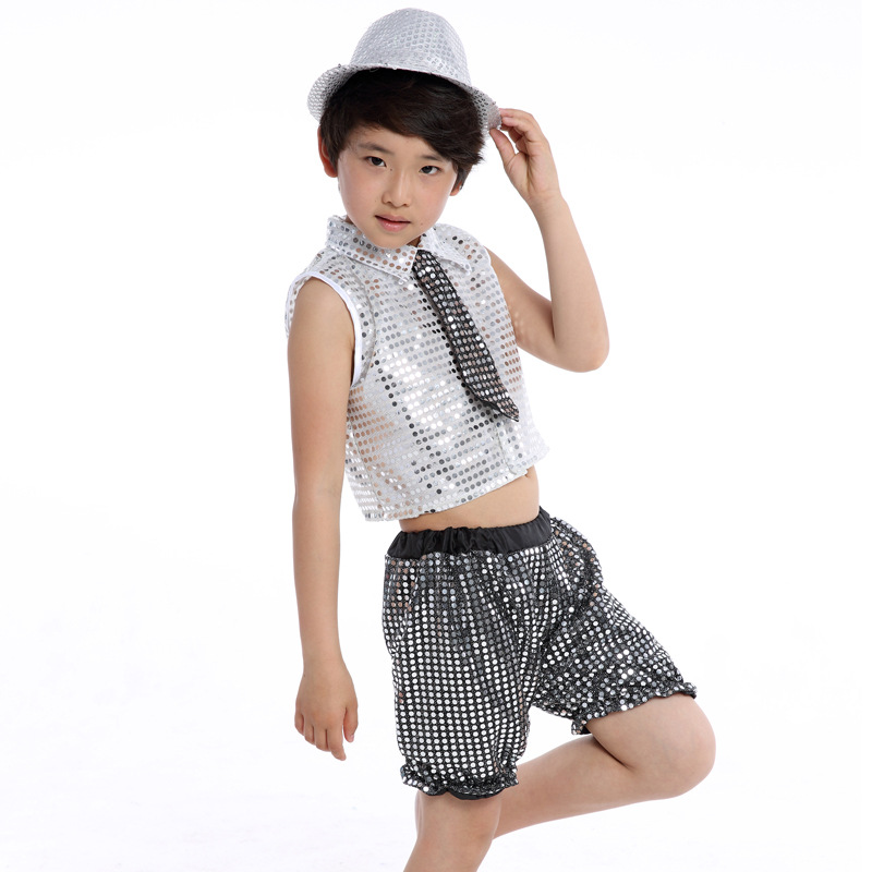 fcb4998f07dfd Children's Sequins Practice Performance Latin Jazz Dance Dress Ballroom  Dance Leotards Girls Latin Dancing Dress Costumes L149
