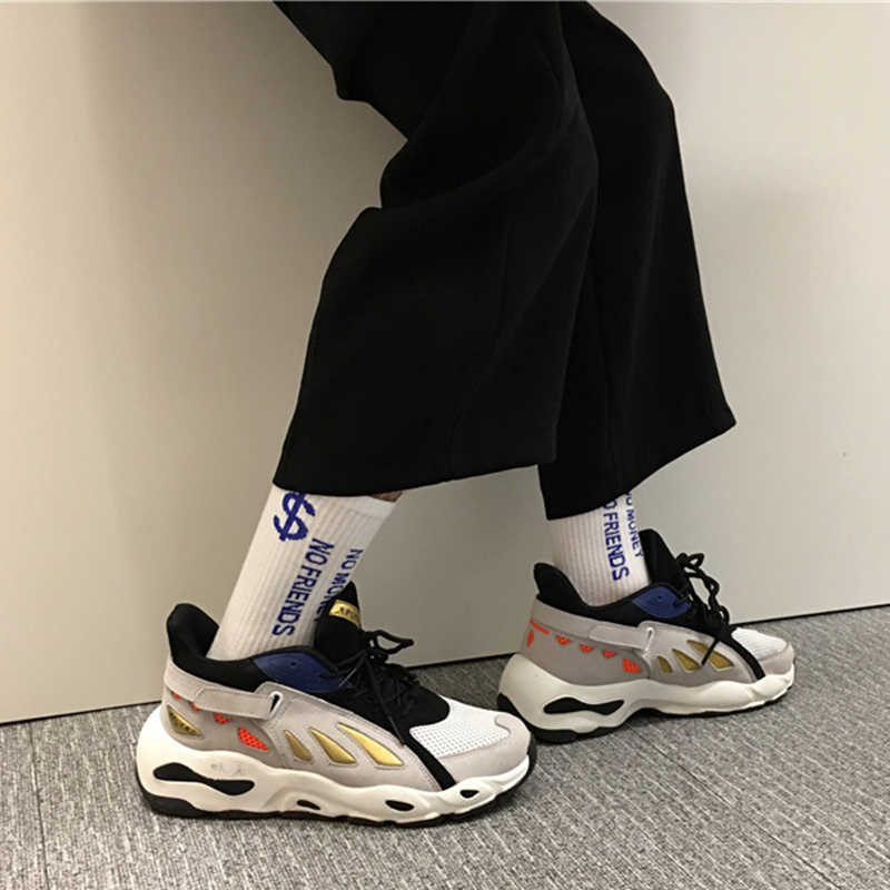 48b6f5ffd5f INS Vintage dad sneakers 2018 kanye fashion west 700 light breathable men  casual shoes zapatillas hombre