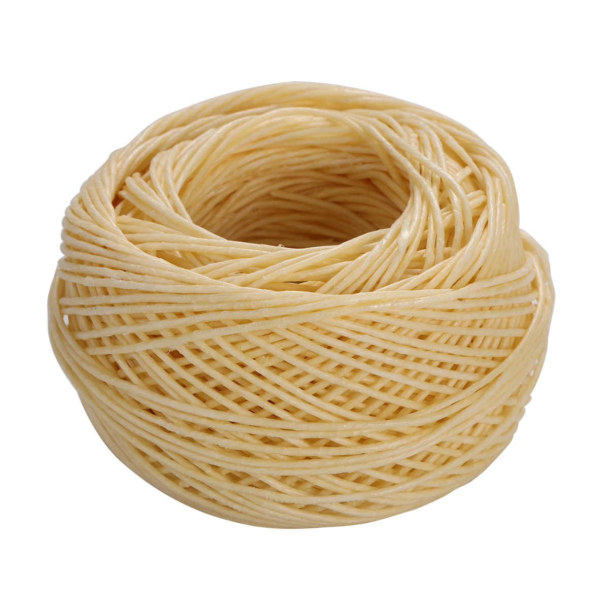 61M Waxed Cotton Cord Hemp Wick Candle Wicks Low Smoke Cotton Core for Candle Making Candle DIY Craft Project