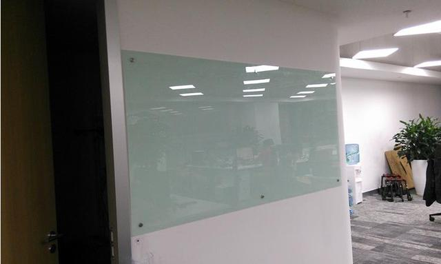 Cm kundenspezifische stahl magnetische glas whiteboard