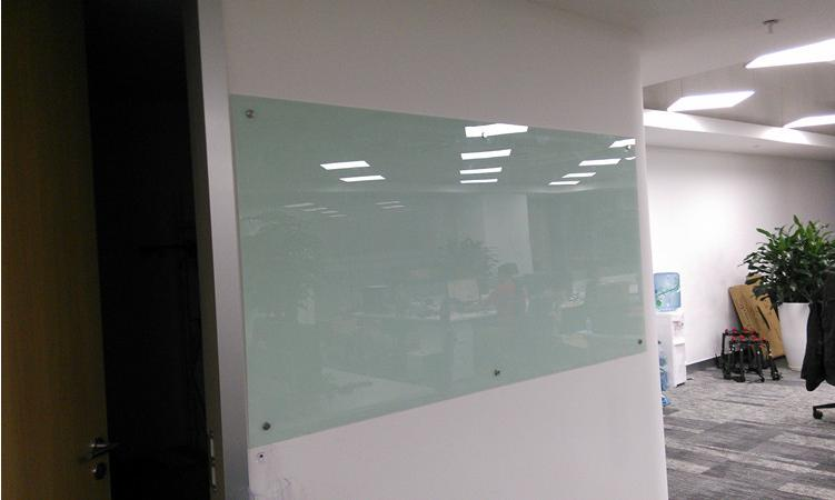 90 120cm Customized Steel Magnetic Glass Whiteboard