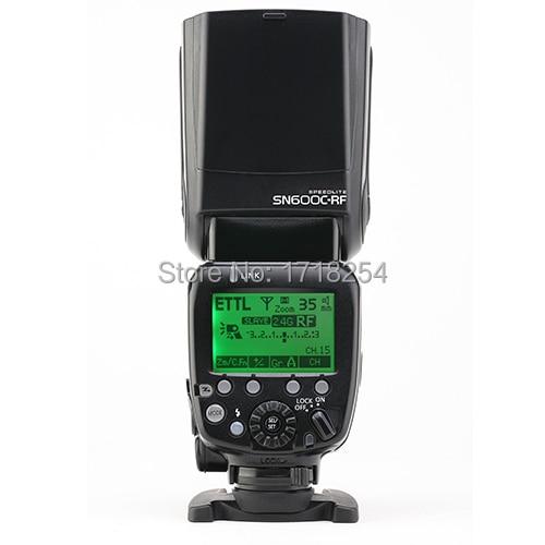 Shanny SN600C RF Speedlite 2.4G wireless radio slave flash ,GN60,on camera TTL,HSS 1/8000s for Canon