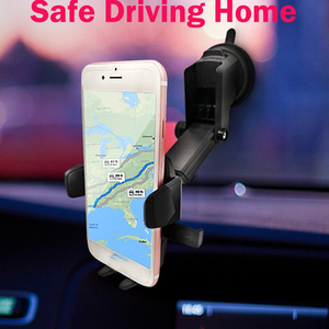 Image 1 - Universal Car Bracket 360 Adjustable Degrees Phone Holder Bracket Auto Mounts For Car GPS Recorder DVR Camera