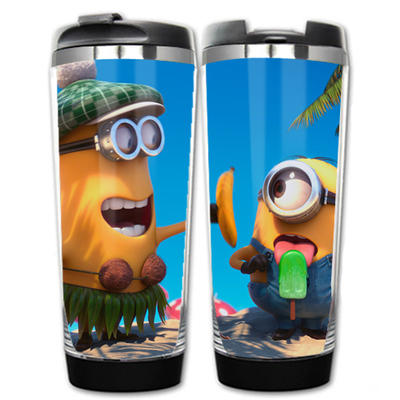 Despicable Me Minions Double Insulation Plastic Stainless Steel Mug