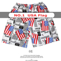 WHOLESALE 2014 NEW MEN'S PRINT LOOSE SHORTS CASUAL BOARD SHORTS BEACH SHORTS SWIMWEAR ONE FREE SIZE FIT 30 32 34 36 38