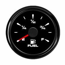 52 мм водонепроницаемый автомобильный лодочный датчик уровня топлива подходит для 0~ 190 ом датчик уровня топлива с подсветкой 9~ 32 в