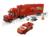 373 unids 10017 bela pixar cars equipo de mack camión modelo de bloques de construcción ladrillos juguetes compatibles con lego