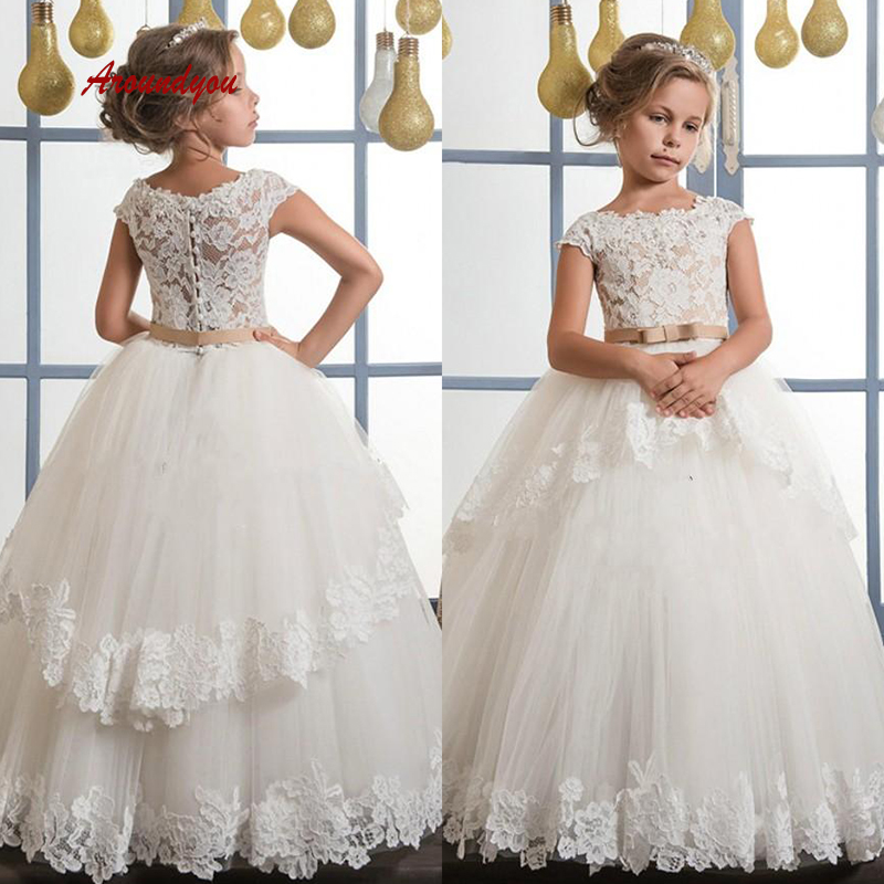 Lovely   Flower     Girl     Dress   for Party and Weddings Lace Pageant First Holy Communion   Girls     Dress   for   Girls   Gown 2019