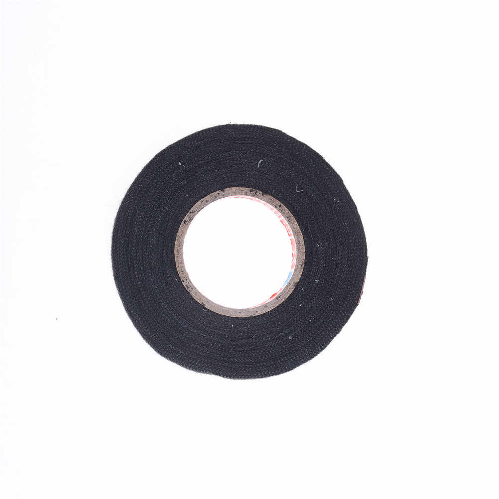 1 pc דבק כבל הגנת חום עמיד חיווט לרתום בד בד קלטת חיווט לרתום קלטת 19mm X 15 M