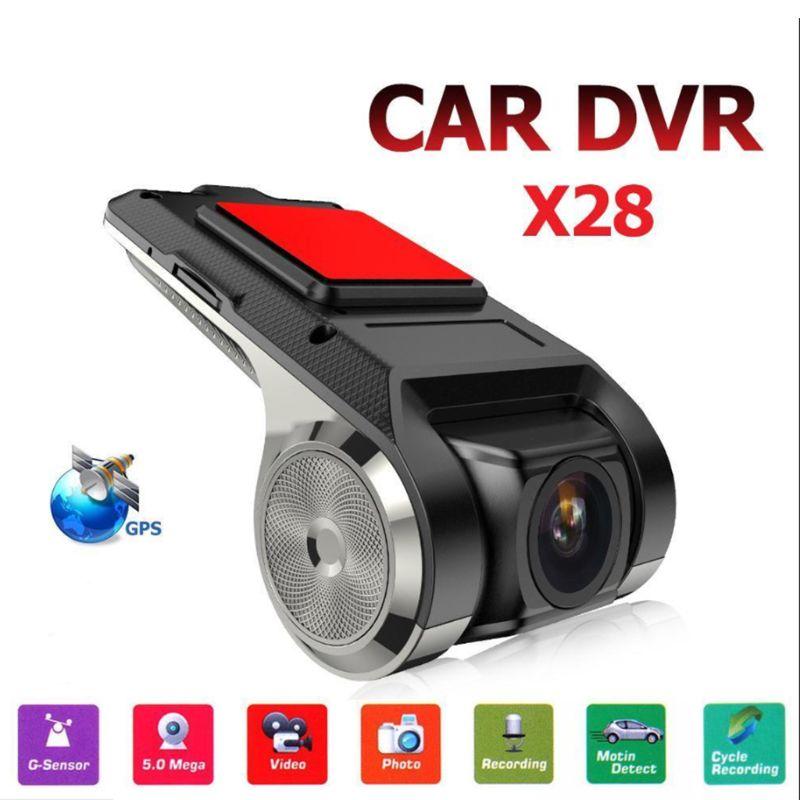 New Mini Full HD 720P Auto Car DVR Camera Auto Navigation Recorder Dash Cam Camera G-Sensor ADAS Video Driving Recorder