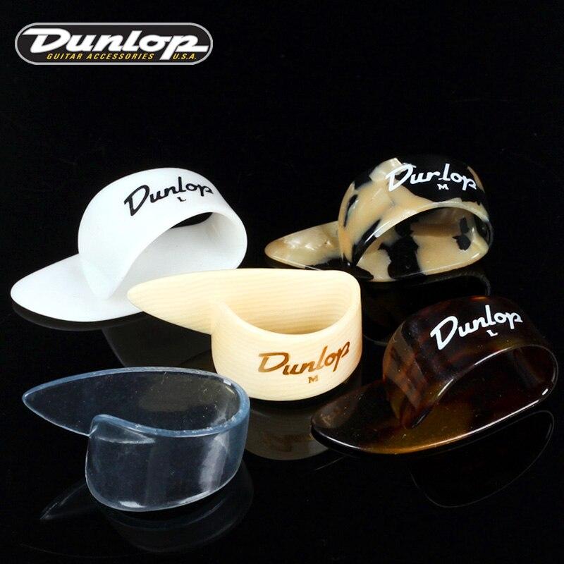 Dunlop White Plastic Thumb Pick Plectrum Mediator