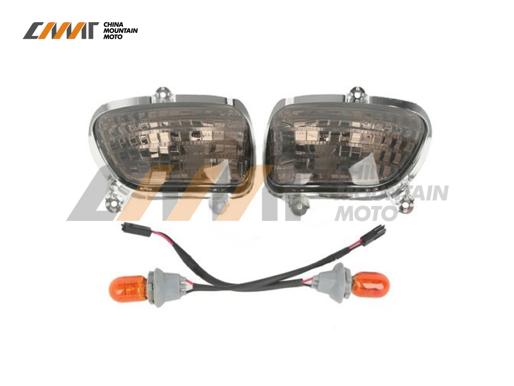 Clear Front Turn Signal Lens Shell Cover Fit Honda Goldwing