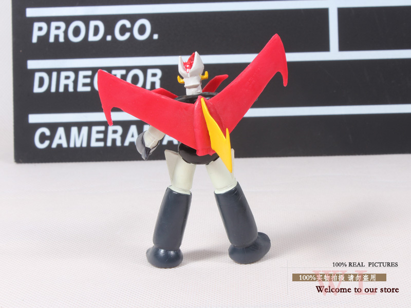 Mazinger Z PVC Action Figure Collectible Model Toy Gift Robot Toys Kids Toys Gifts 3.5
