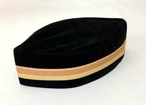 Image 4 - 4 sztuk/worek (szczegóły wyboru prezentu) muzułmańskich mężczyzn Cap Turban czarny islamski kapelusz (ozdobna granica losowo) Pleuche może mieszać rozmiary