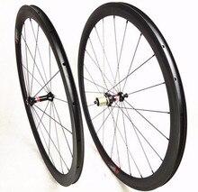 Хорошее качество супер легкий китайский углерод дорожный велосипед довод колеса 50 мм Новатек AS511SB FS522SB прямо тянуть Колесная