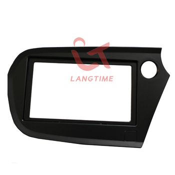 Car refitting DVD frame,DVD panel,Dash Kit,Fascia,Radio Frame,Audio frame for 2009 Honda Insight(right hand),2DIN