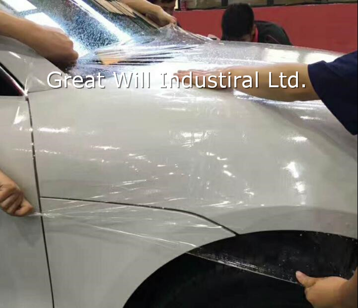 3//5M Clear Car Bumper Hood Paint Protection Film Vinyl Decal Fit for Auto Car US