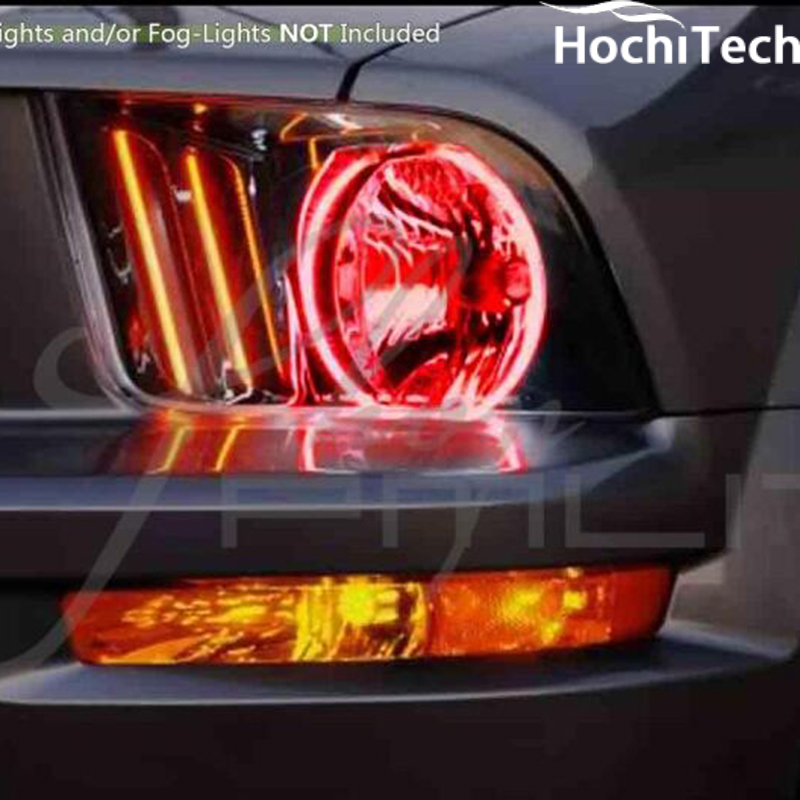 For 2004 2005 2006 Volkswagen Touareg Rgb Led Headlight